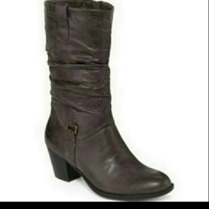 Yuu™ Nabie Womens Slouch Boots found at Heeled Boo